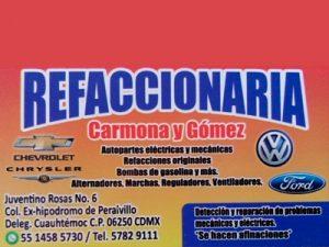 Carmona y Gómez